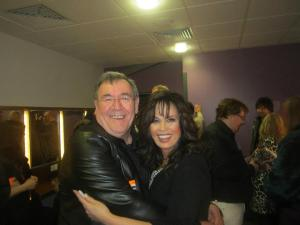 myself with Marie Osmond